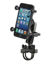 Handlebar Motorcycle Rail Pipe Mount fits Apple iPhone 4 4s 5 5c 5s 6 6s & SE