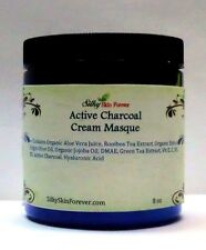 Active Charcoal Cream Mask Masque Hyaluronic Acid DMAE Pore Cleansing Detox