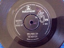 """THE BEATLES...SHE LOVES YOU...I'LL GET YOU...UK 1963 7""""45...GREAT Condition...."""