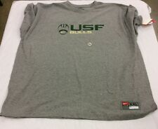 NCAA Nike Mens University of South Florida Football Bulls T-Shirt Gray