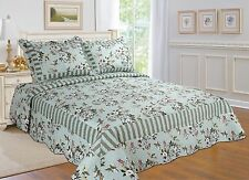 96-All For You 3Pc Reversible quilt set, bedspread, and coverlet set-reversible