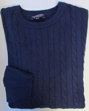 nwt-roundtree-yorke-cable-sweater-crewneck-blue-size-xl