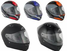 Stealth Motorcycle Bike Scooter Full Face Thermoplastic HD117 Road Racing Helmet