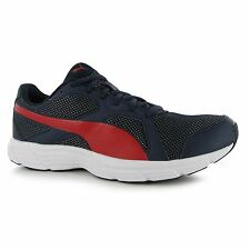 Puma Axis Mesh Running Shoes Mens Peacoat/Red Fitness Sports Trainers Sneakers
