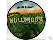 "THIN LIZZY uk 7"" picture  disc HOLLYWOOD w/Phil Lynott, hard rock"