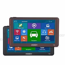 XGODY 7'' Lorry SAT NAV 8GB Bluetooth 256MB RAM Car Truck GPS Navigation NEW MAP