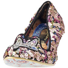 Irregular Choice Miss Foxy Womens Shoes Black Multicolour New Shoes
