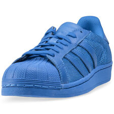 adidas Superstar Wmns Unisex Trainers Blue New Shoes