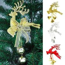 New Chital Hanging Xmas Deer Baubles Party Decor Christmas Tree Ornament Hot Q86