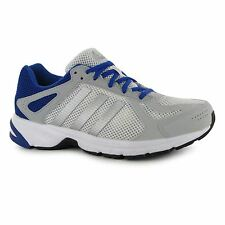 Adidas Duramo 55 Running Shoes Mens White/Silver/Blue Fitness Trainers Sneakers