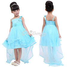 Girls Flower Girl Dress Party Formal Christening Baptism Wedding Bridesmaid Prom