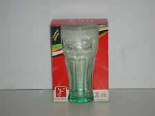 CCG68  Collectable Green 2008 Bejing Olympics McDonalds Coca-Cola Glass