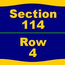 4 Tickets WWE Smackdown 11/29/16 at Colonial Life Arena - 114 4