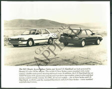 CA PHOTO bdc-102 1985 Honda Accord