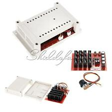 10~50V 60A 3000W 15KHz DC Motor Speed Control PWM HHO RC Controller With Case