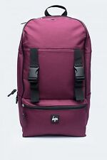 HYPE JUST HYPE Traveller Backpack AW16353 Unisex Burgundy Backpack Rucksack Bag
