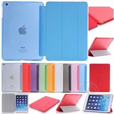 NewLeather Magnetic Smart Case Cover Sleep /Wake For Apple iPad Air 1 2 3 4 Mini