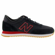 New Balance 501 Ripple Sole  Black Red Mens Trainers