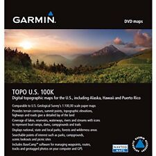 Garmin TOPO Map DVD US Mapping for Alpha, Astro, and More Limited Stock