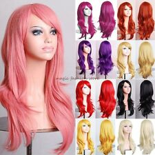 Hot Sale Women Wigs Long Layer Full Hair Wig Cosplay Party Daily Fancy Dress D40