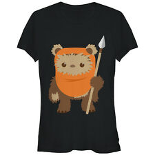 Star Wars Wicket Ewok Cartoon Juniors Graphic T Shirt