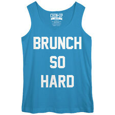 CHIN UP Brunch So Hard Womens Graphic Tank Top