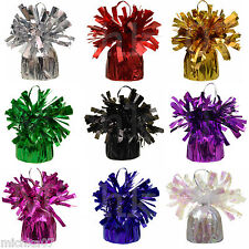 1/6/12 Foil Helium Balloon Weights Wedding Birthday Christening Party Decoration