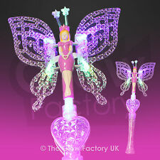 Wholesale Large Fairy Wands Flashing LED Princess Fairies Glow Wand Light up
