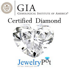 0.7CT F SI1 Heart GIA Certified & Natural Loose Diamond (2151467337)