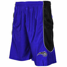 Majestic Orlando Magic Royal Blue Big & Tall Dazzle Mesh Shorts