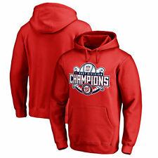 Washington Nationals Red 2016 NL East Division Champions Captain Pullover Hoodie