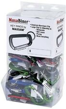 BNF GFCRB100 Maxam 100 Pieces Assorted Colors Aluminum Maxabiner Clips. Shipping