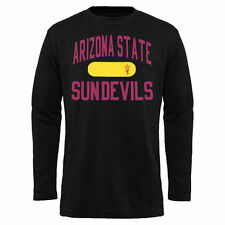 Arizona State Sun Devils Black Straight Out Long Sleeve Thermal T-Shirt