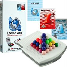 Lonpos 404 Brain Intelligence Puzzle Game. Free Delivery