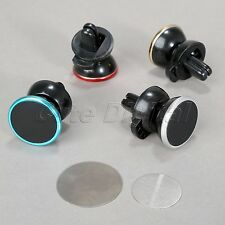 Universal 360 Car Air Vent Magnetic Mount Stand Holder for Mobile Cell Phone GPS