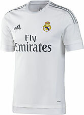 ADIDAS REAL MADRID AUTHENTIC HOME MATCH JERSEY 2015/16 LA LIGA SPAIN.