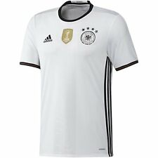 ADIDAS GERMANY EURO 2016 AUTHENTIC PLAYERS HOME ADIZERO JERSEY White/Black.
