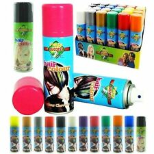 Temporary Hair Colour Hairspray Hair Spray  Glitter Spray Wash Out Choose Colour