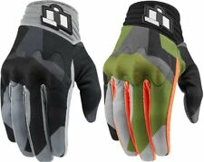 Icon Mens Anthem Deployed Touchscreen Capable Mesh Riding Gloves