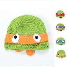 Christmas Newborn Boy Girl Baby Beanie Crochet Knit Cartoon Hat Photo Prop Caps