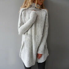 New Women's Oversized Batwing Sleeve Knitted Sweater Tops Loose Cardigan Coat