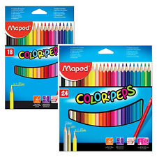 MAPED Colored Pencil Sets *18 Color Pencils *24Color Pencils