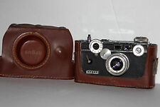 "Vintage 1950's Argus C3 35mm Rangefinder ""Brick"" Film Camera Working Condition"