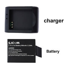 Original 3.7V 900mAh Li-ion Battery Charger for SJCAM SJ4000 SJ5000 Sport Camera