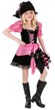 Pink Punk Pirate Girl Child Halloween Costume
