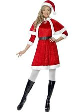 Adult Sexy Christmas Miss Santa Ladies Fancy Dress Xmas Party Costume Outfit