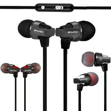 Super Bass Earphone In-ear Headphone With Mic Volume Control 1.2m Cable Headset
