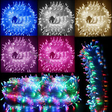 8 Multi-Action 30M/50M/100M Xmas Christmas Tree Fairy String Lights Party Deck