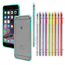 Ultra Slim Transparent Crystal Clear Hard Case Cover For iPhone 6/6s 5/5c/5s 4s
