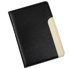 Black Leather Smart Cover Case Stand For Apple iPad Air 2 Mini 2 3 4 Wake Sleep